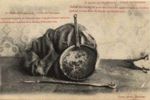 Beweisstück vom Mordverbrechen von Violaines vom 20. Januar 1906. Postkarte. Digitale Sammlung Blazek