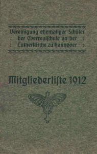 Mitgliederliste 1912