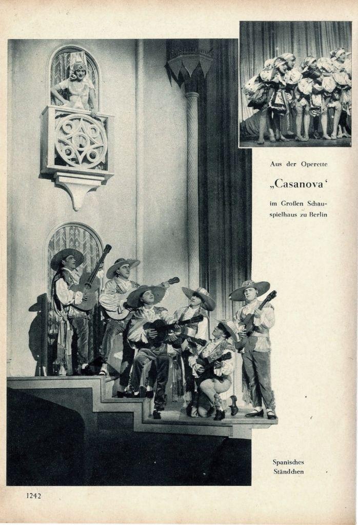 Spanisches Ständchen mit den kostümierten Comedian Harmonists